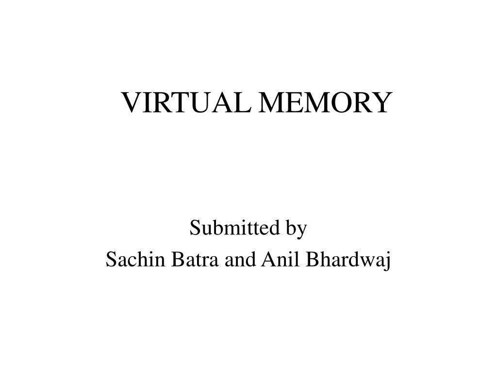 virtual memory l.