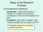 steps in the research process12