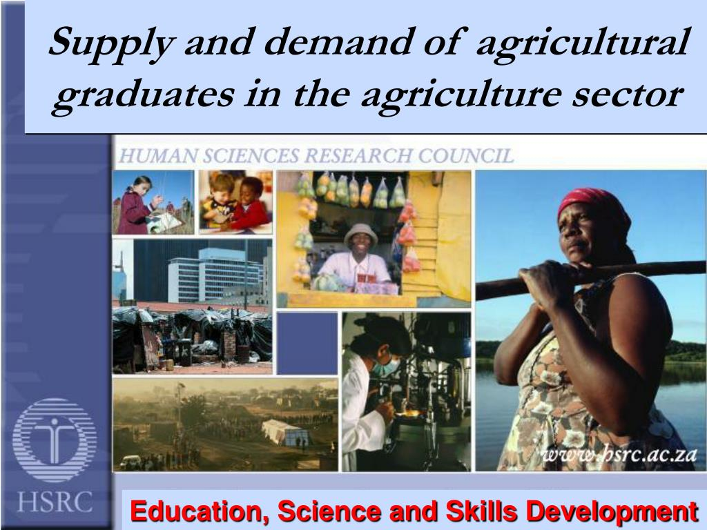 supply and demand of agricultural graduates in the agriculture sector l.