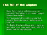 the fall of the guptas