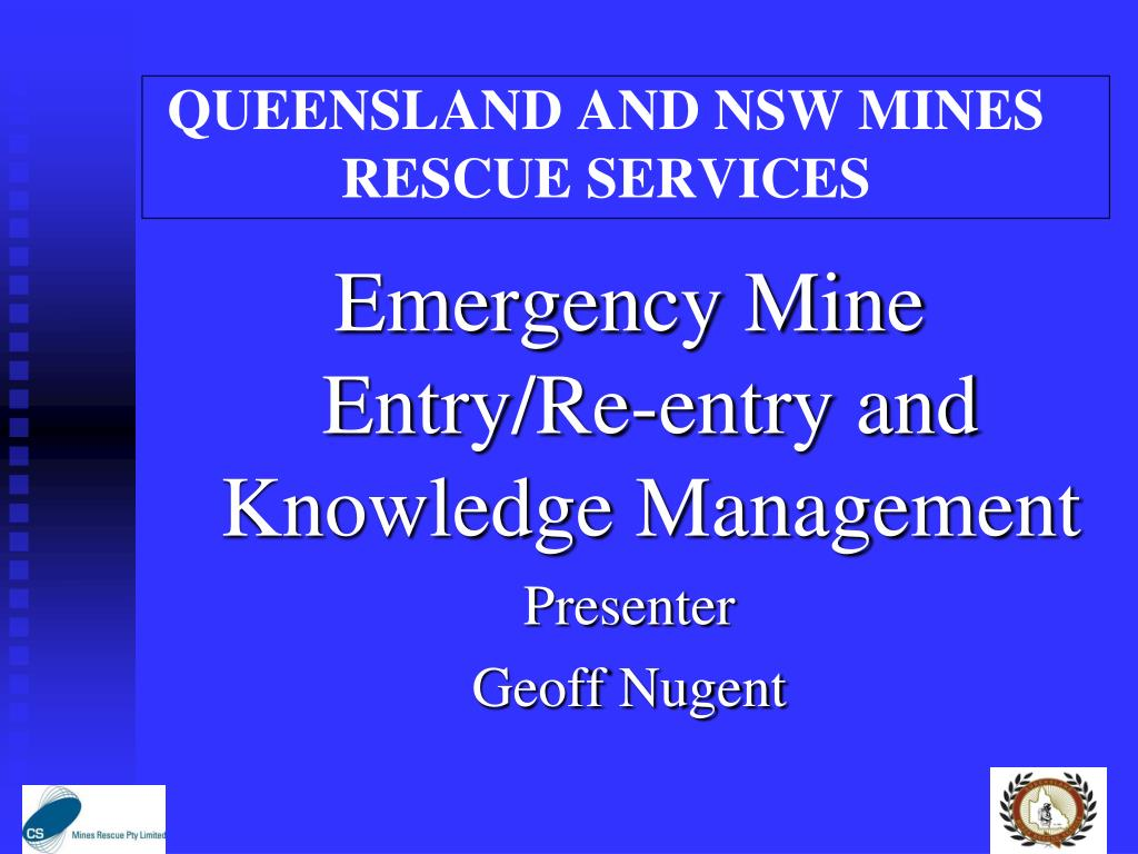 queensland and nsw mines rescue services l.
