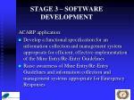 stage 3 software development