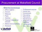 procurement at wakefield council7