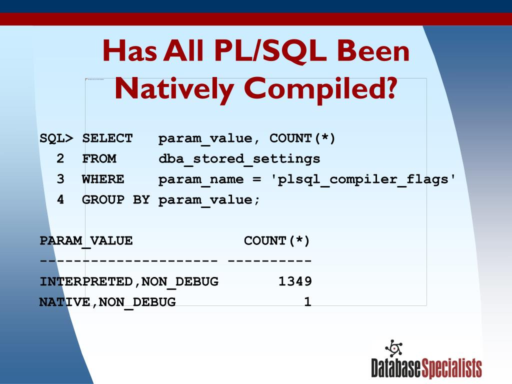 Has All PL/SQL Been