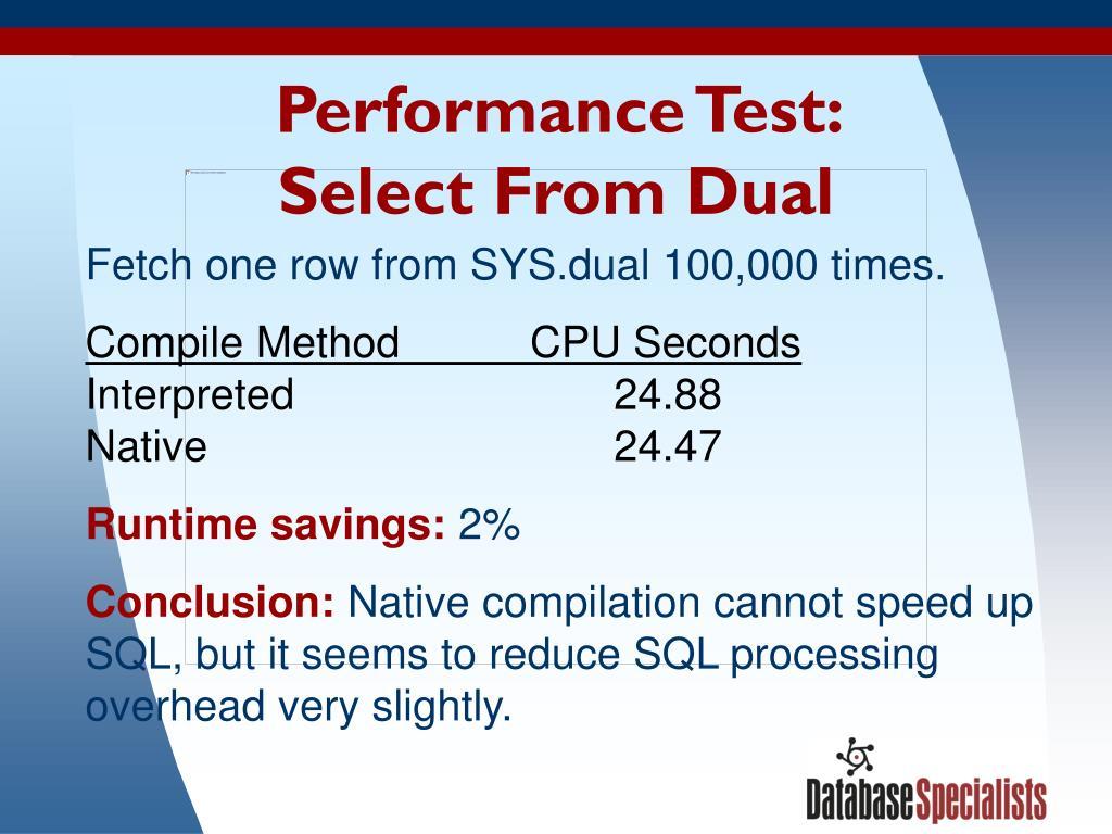 Performance Test: