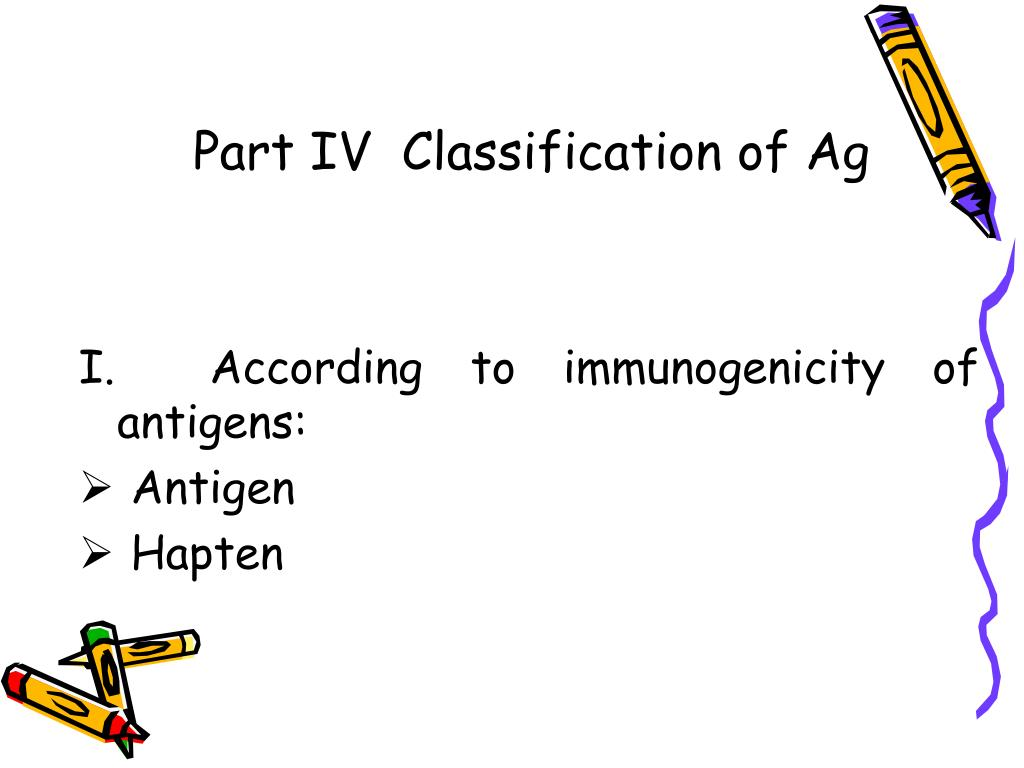 Part IV  Classification of Ag