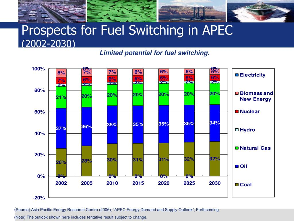 Prospects for Fuel Switching in APEC