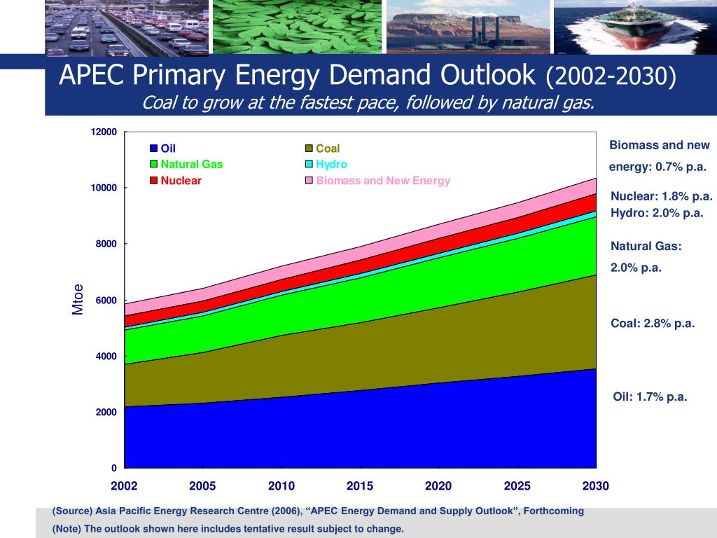 APEC Primary Energy Demand Outlook
