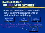 8 2 repetition the for loop revisited