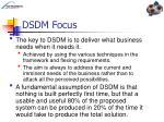dsdm focus