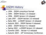 dsdm history