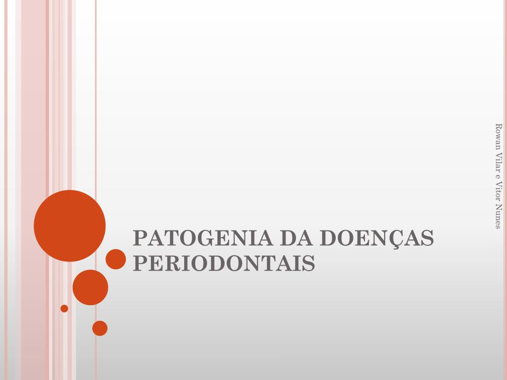 patogenia da doen as periodontais l.