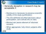 case study 2 con t