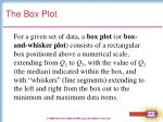 the box plot20