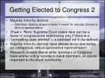 getting elected to congress 2