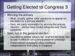 getting elected to congress 3
