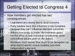 getting elected to congress 4