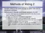methods of voting 2