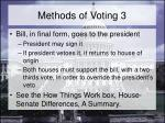 methods of voting 3