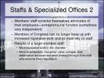 staffs specialized offices 2