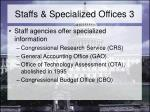staffs specialized offices 3