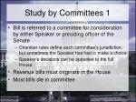 study by committees 1