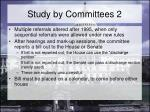 study by committees 2