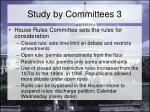 study by committees 3