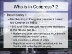 who is in congress 2