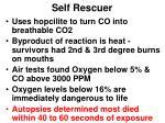 self rescuer