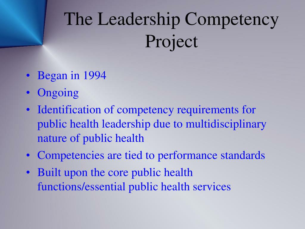 The Leadership Competency
