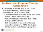 perkins loan program teacher cancellation21
