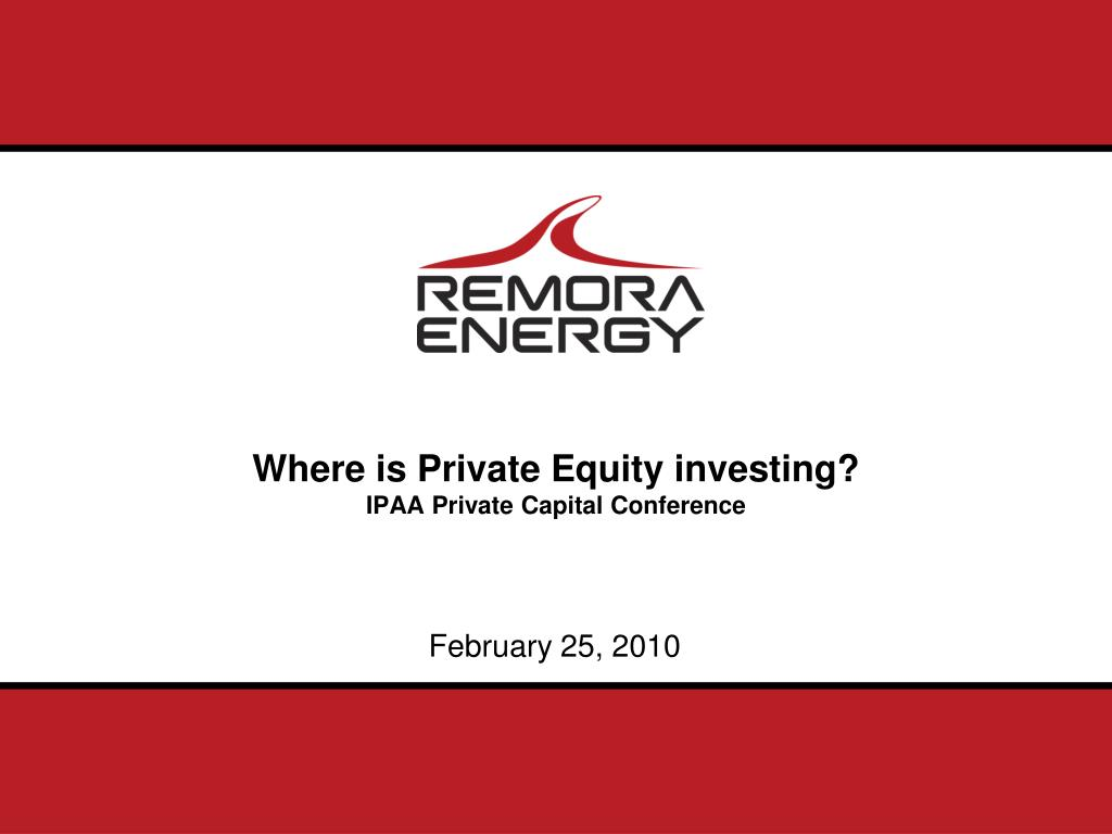 where is private equity investing ipaa private capital conference l.