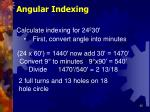 angular indexing35