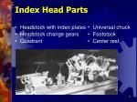 index head parts