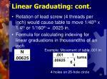 linear graduating cont