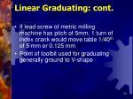 linear graduating cont54