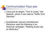 communication faux pas15