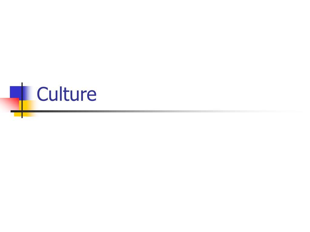 culture l.