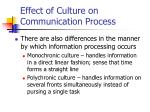 effect of culture on communication process11