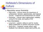 hofstede s dimensions of culture24