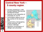 central new york 5 county region