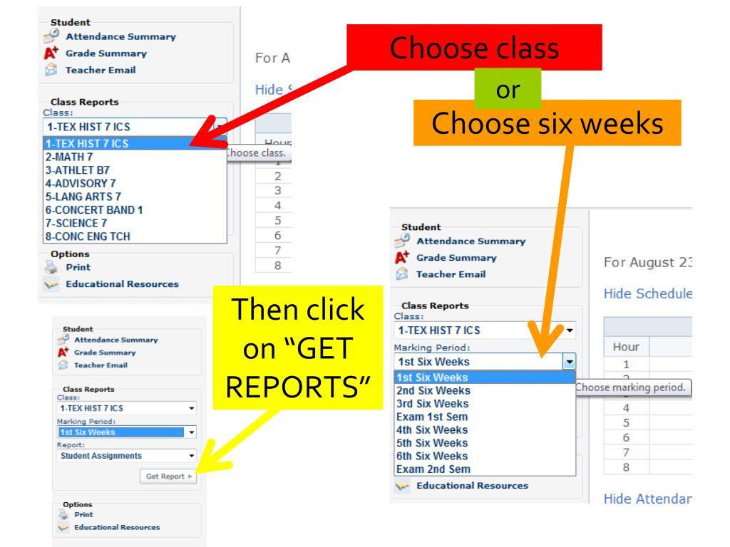 Choose class