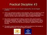 practical discipline 3