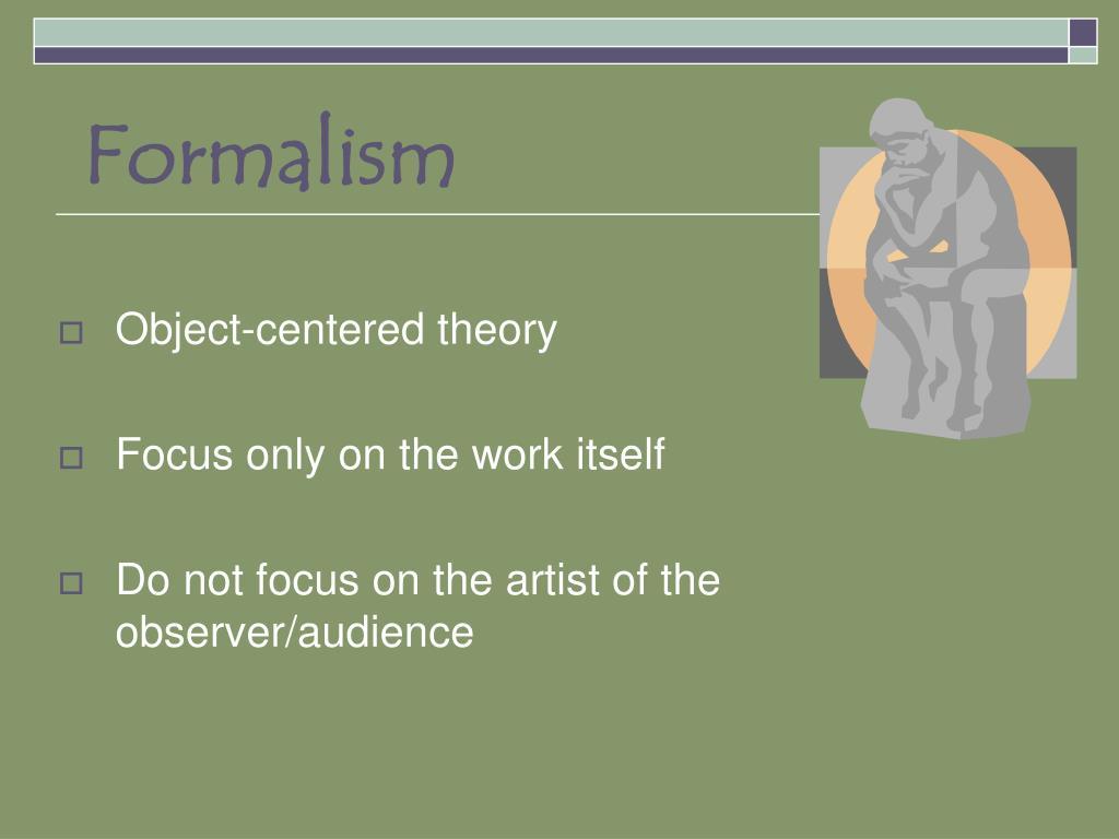 formalism l.