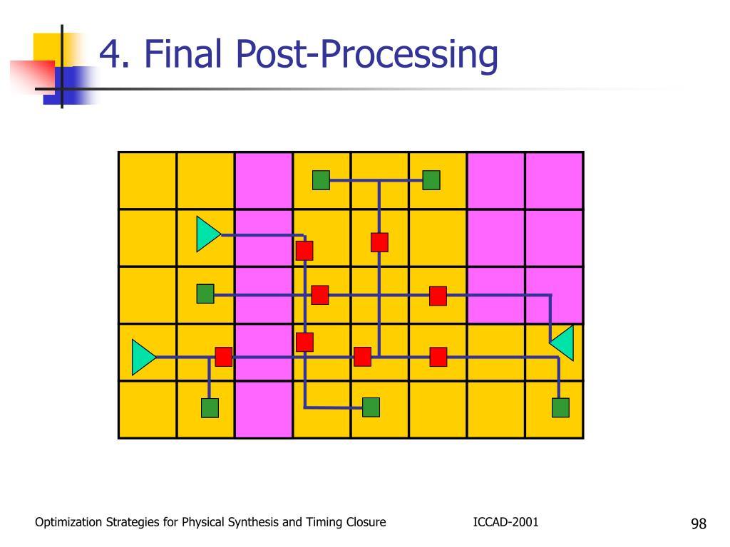 4. Final Post-Processing