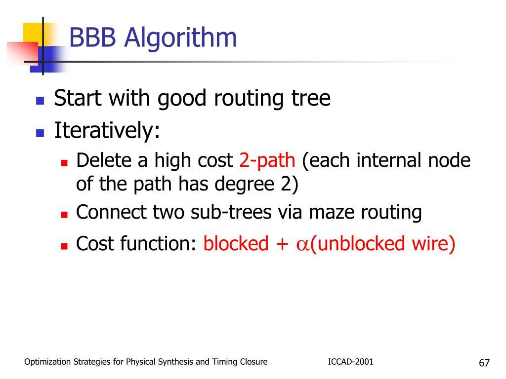 BBB Algorithm