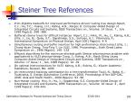 steiner tree references