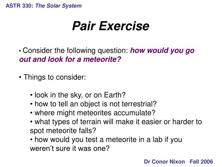 Astr 330 the solar system3