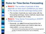 rules for time series forecasting10